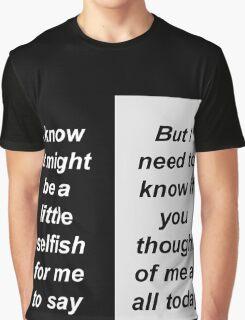 Taken by Sleep Graphic T-Shirt