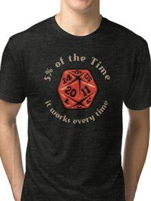 D&D Tee - 5 Percenter Tri-blend T-Shirt