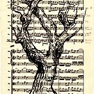 Handel Water Music Tree #3 by Rebecca Rees