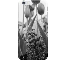 Hyacinth Black and White iPhone Case/Skin