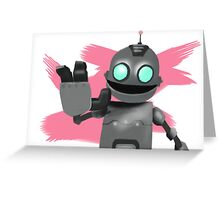 Clank Greeting Card
