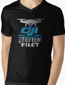 DJI Phantom Pilot  Mens V-Neck T-Shirt