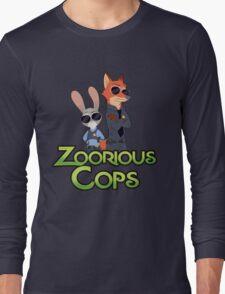 Zoorious Cops (Serious Cops) Long Sleeve T-Shirt