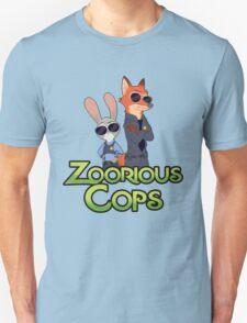 Zoorious Cops (Serious Cops) Unisex T-Shirt