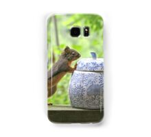 Squirrel and Cookie Jar Samsung Galaxy Case/Skin