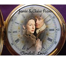 Outlander/Jamie & Claire Fraser/Timeless Love Photographic Print
