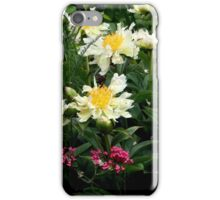 Green Lotus Peony iPhone Case/Skin