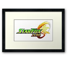 star fox zero Framed Print