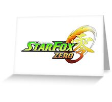 star fox zero Greeting Card