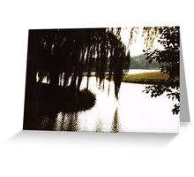 Willow Silouette Greeting Card