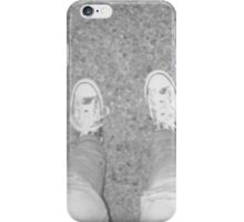 Grey Shoes Photo iPhone Case/Skin