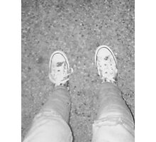 Grey Shoes Photo Photographic Print