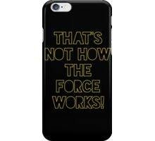 Star Wars Quote Han Solo iPhone Case/Skin