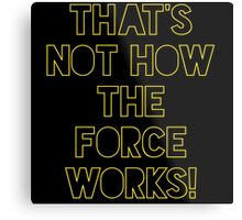 Star Wars Quote Han Solo Metal Print
