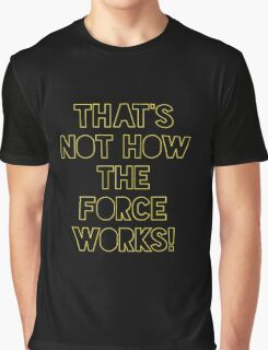 Star Wars Quote Han Solo Graphic T-Shirt