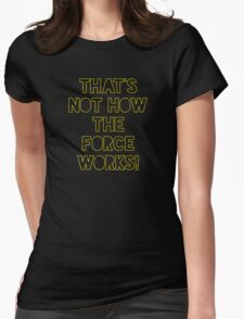 Star Wars Quote Han Solo Womens Fitted T-Shirt