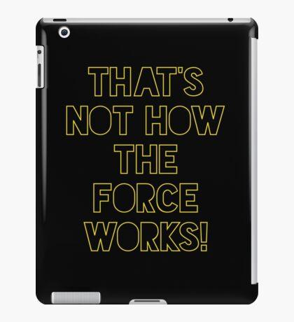 Star Wars Quote Han Solo iPad Case/Skin