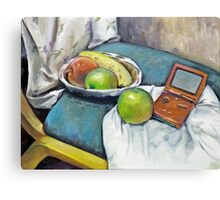 Savannah's Game Boy Advance SP ver.1 Canvas Print