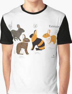 Rabbit colour genetics - Extension gene Graphic T-Shirt