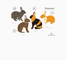 Rabbit colour genetics - Extension gene Unisex T-Shirt