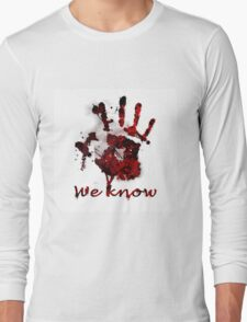 Dark Brotherhood Handprint Long Sleeve T-Shirt