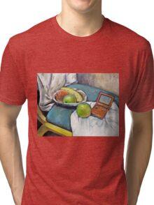 Savannah's Game Boy Advance SP ver.1 Tri-blend T-Shirt