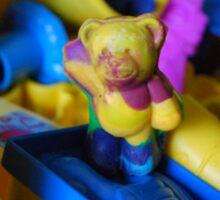 PlayDoh Bear Sticker