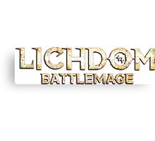 Lichdom: Battlemage Canvas Print