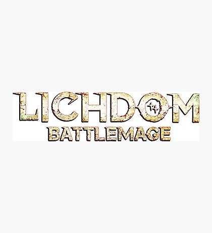 Lichdom: Battlemage Photographic Print