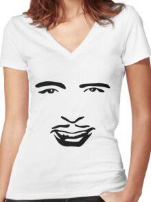 Silent Stars - Douglas Fairbanks Women's Fitted V-Neck T-Shirt