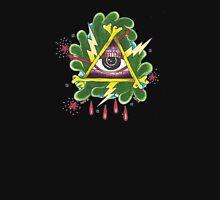 Illuminati All Seeing Eye Womens Fitted T-Shirt
