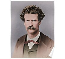 Young Mark Twain 1867 Poster