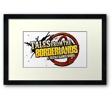 Tales from the Borderlands Framed Print