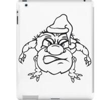 team buddies monster bodybuilder muscles strong men Muckis hulk workout ork oger troll funny green iPad Case/Skin