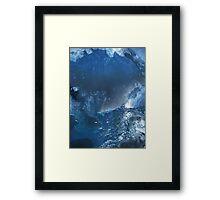 Mixtures Of Blue 2 Framed Print