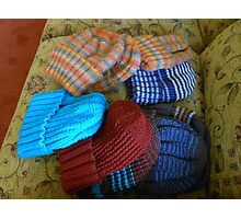 Colourful Hats Photographic Print