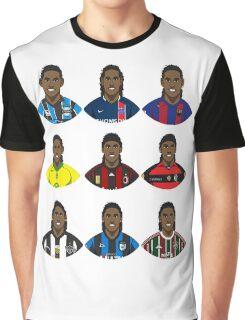 Ronaldinho Graphic T-Shirt