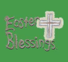 Easter Blessings Kids Tee