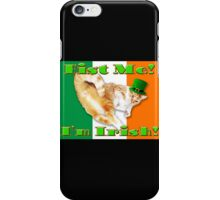 fist me i'm irish iPhone Case/Skin