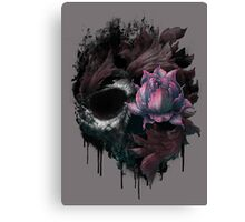 Death Blooms Canvas Print