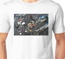 TMNT Symbiotes w/Background Unisex T-Shirt