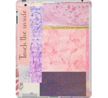 Touch The Inside - Paper Collage iPad Case/Skin