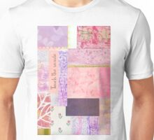 Touch The Inside - Paper Collage Unisex T-Shirt