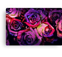 Star Light Roses Canvas Print