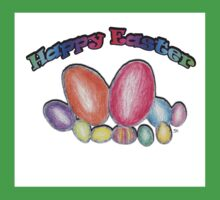 Easter Eggs  Baby Tee