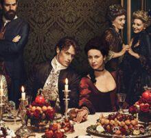 Outlander/Season two poster Sticker