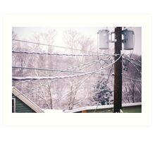 Winter View Art Print