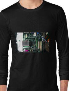 Techno Digital Mom Long Sleeve T-Shirt