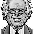 Bernie Caricature by Matt Curtis
