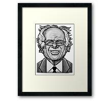 Bernie Caricature Framed Print